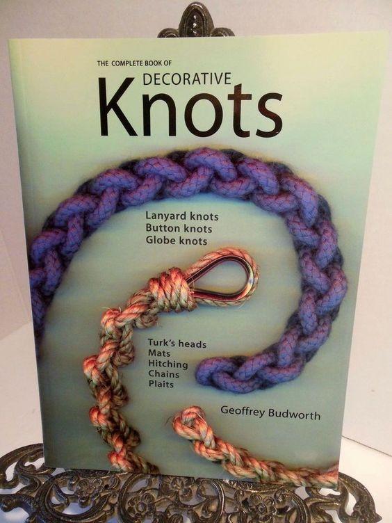 Detalles Acerca De Complete Decorative Knots How To Tie Knot Tying