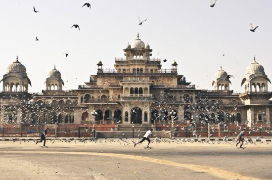 O skate pela Índia