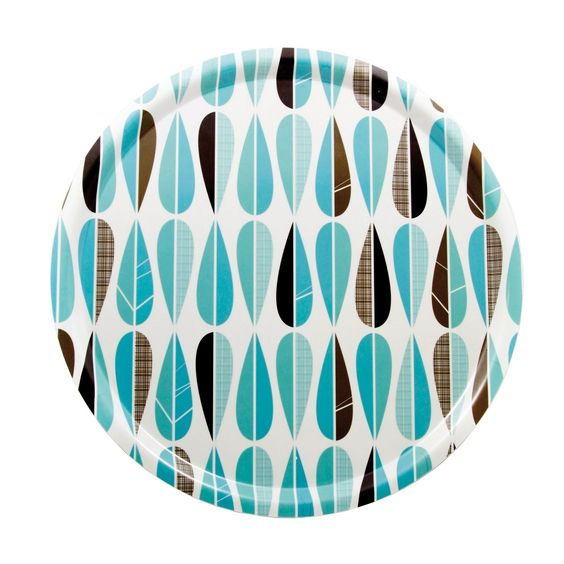 PLATEAU ROND AVEC FEUILLES, ISAK , €38.00 by Stereo Fields Forever