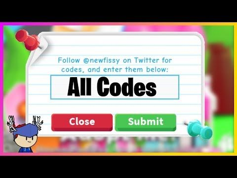 Roblox Adopt Me All Codes 2019 Username Muneebparwazmp Donations All Codes Coding Roblox