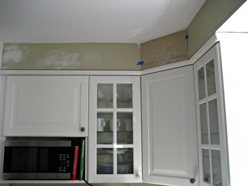 Ikea Corner Cabinet Installation With Soffit Good Idea To