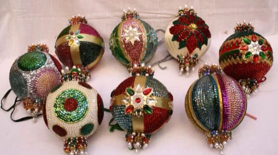 Ornaments from the legendary holiday collection of silent film star Harold Lloyd