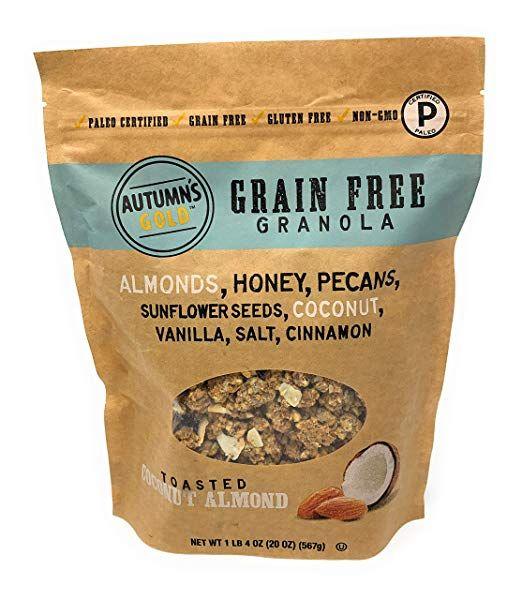 Healthy Grain Free Granola Almond Granola Coconut Almond Granola
