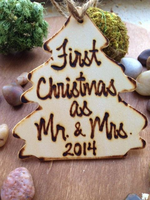 First Christmas as Mr. & Mrs. Christmas Ornament by PrinceWhitaker