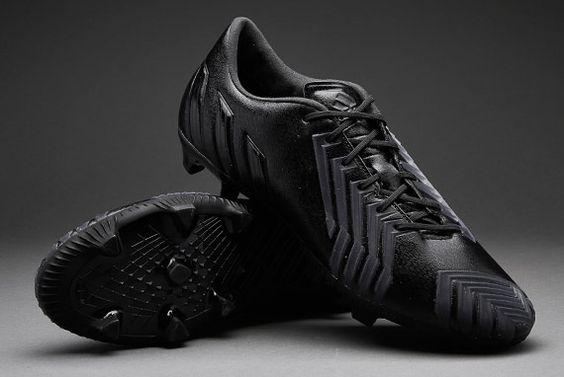 adidas Football Boots- adidas Predator Instinct FG - Firm Ground - Mens Soccer Cleats - Black-Black