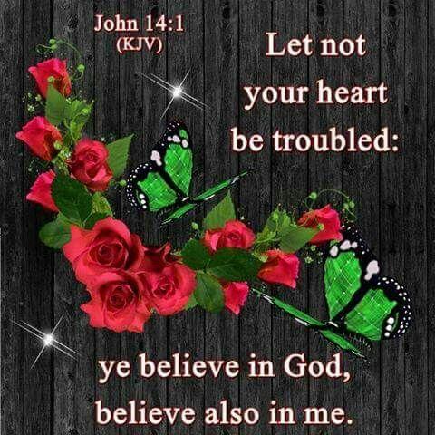 John 14:1 KJV: