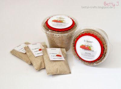 Bettys Crafts: Erdbeer-Joghurt-Cappuccino-Pulver