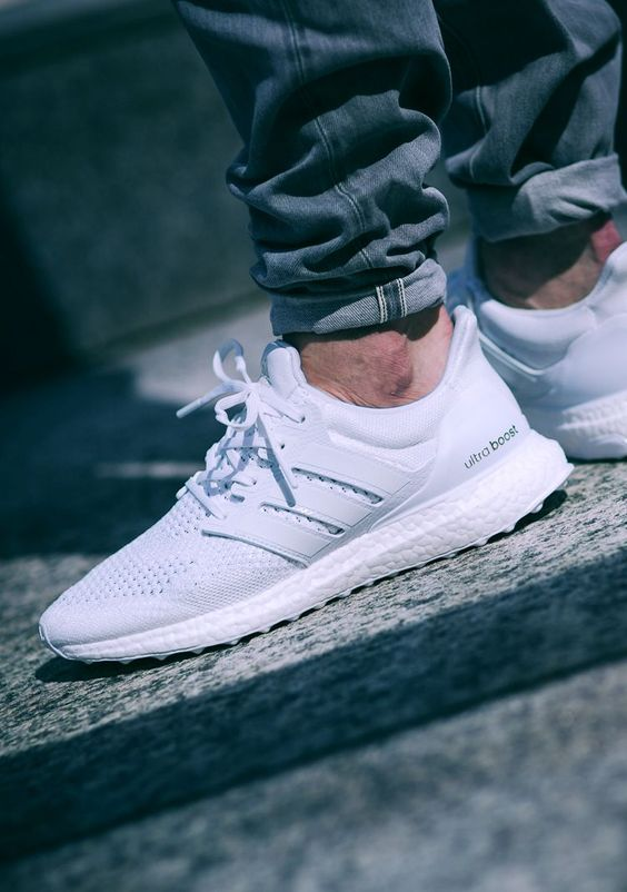 Ultra Boost Adidas Blanco