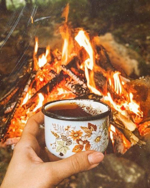 Ilk Kamp Deneyimi Kamp Atesi Kahve Doga Seyahati