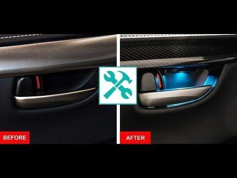 Lexus Nx Door Hanle Led Ambient Light Retrofit Ambient Lighting Lexus Door Handles