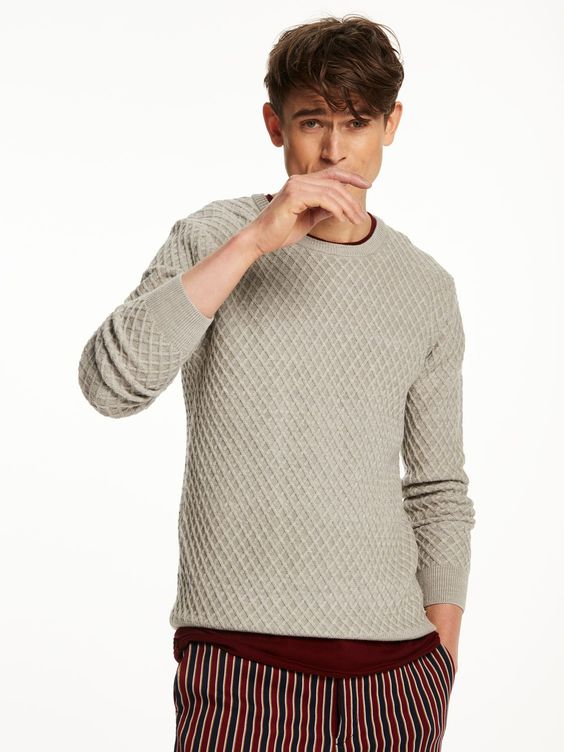Cable knit, Men's knitwear and Cable on Pinterest