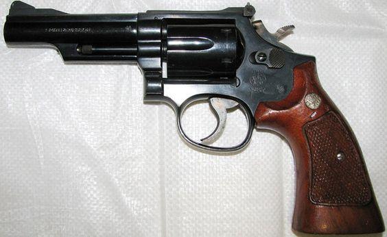 Револьвер смит вессон модификации