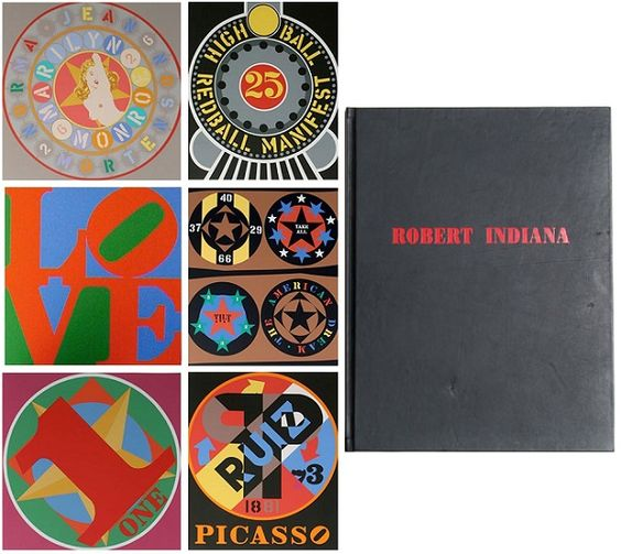 Robert Indiana, The American Dream Book available at #gallartcom