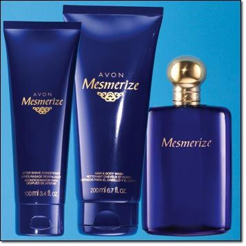 MESMERIZE 3-PIECE SET $18 Cologne, After Shave Conditioner, Hair & Body Wash
