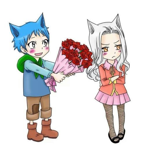 Fairy Tail | Happy and Carla HUMAN VERSION | fairy tail ...