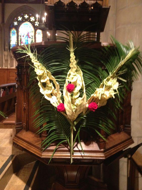 Palm Sunday Palms And Decoration On Pinterest