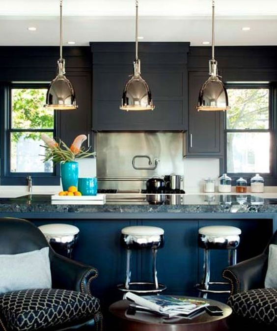 Open Concept Kitchen Cabinet Ideas: Love The Two-tone Cabinets And The