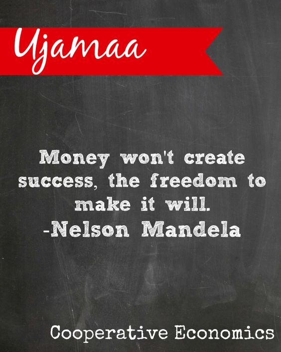 #Kwanzaa Ujamaa means Cooperative Economics