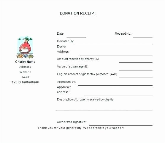 Charitable Donation Form Template Luxury Donation Tax Receipt Form For Template Charitable Letter Receipt Template Donation Form Templates Printable Free