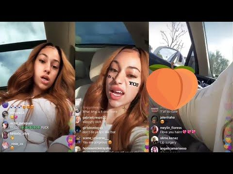 Danielle Bregoli Live Bhad Bhabie Instagram Live Shows Off Moves January 7th 2020 Youtube Danielle Bregoli Instagram Live Danielle Bregoli Hot Danielle bregoli has checked into rehab. danielle bregoli live bhad bhabie