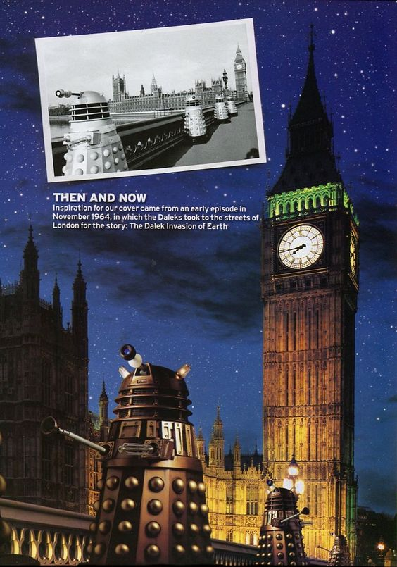Radio Times Doctor Who 2005... wow I wish there were Daleks in London when I was there :p