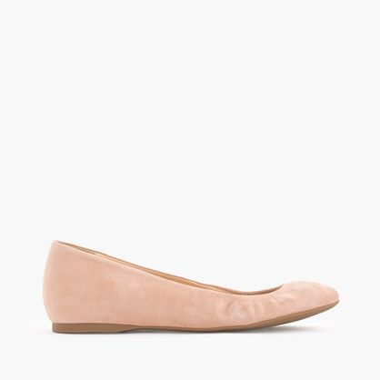 We resurrected one of our most popular ballet flats from the J.Crew archives***
