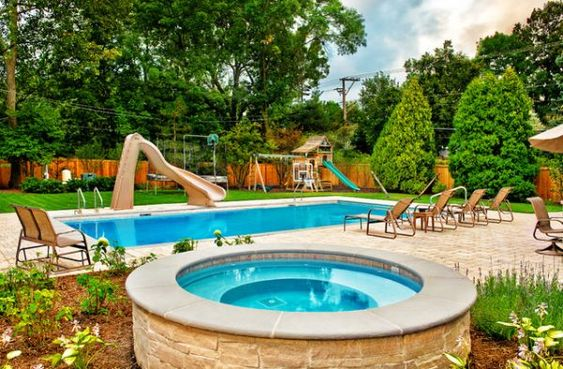 Backyard Pool Designs With Slides 20 backyard pool design ideas for a hot summer | backyard pool