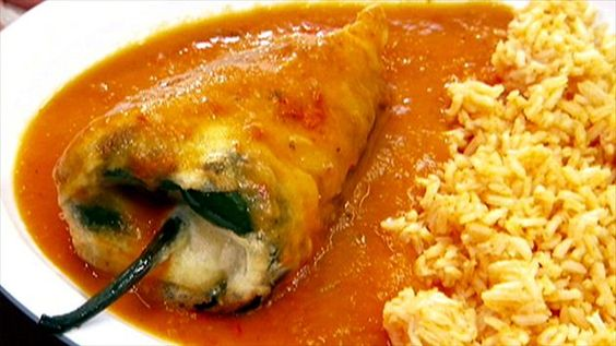 Get this all-star, easy-to-follow Chile Relleno recipe from Diners, Drive-Ins and Dives
