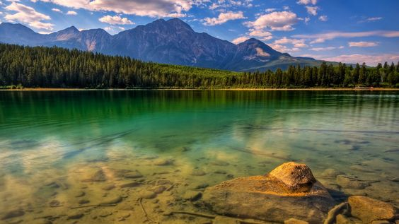 General de 1920x1080 paisajes lagos bosques montañas Canadá