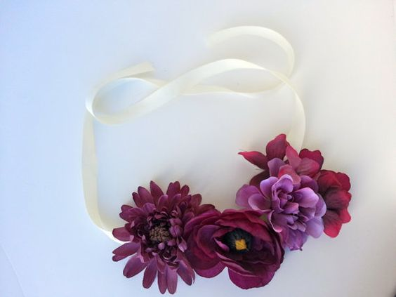 floral headdress!