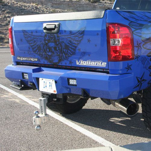 Gmc Duramax Custom Bumper : Fusion bumpers rear bumper for  gmc duramax