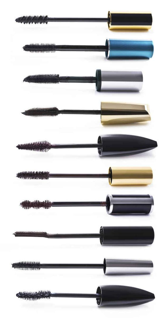 To save on high-end mascaras, keep and clean the expensive mascara wand and use it with a cheaper formula.