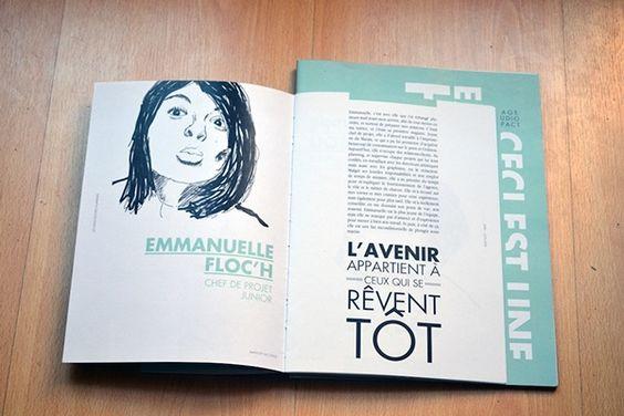 ... rapport rapport de stage graphisme affiche brochure booklet design