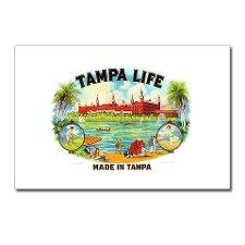 """Tampa Life"" cigar box label"