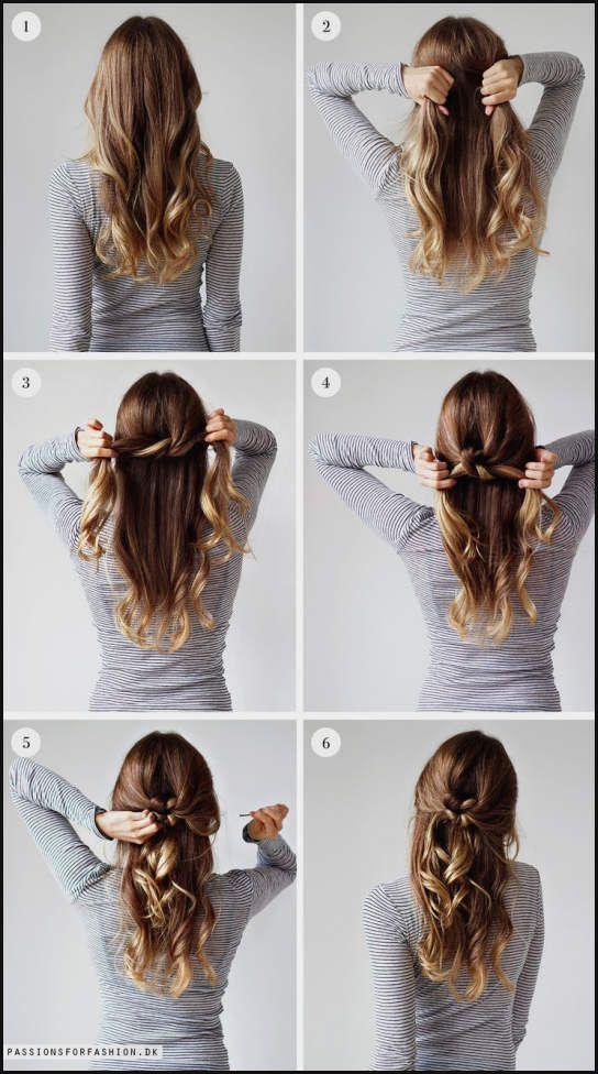 Elegante Frisuren Fur Mittellange Haare Geflochten 4 Offene Einfache Frisuren Long Hair Styles Hair Styles Long Hair Girl