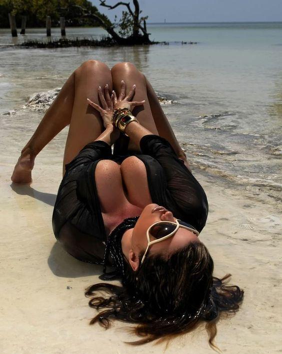 #dana #hamm #Excellent, #beautiful, #nice, #nude, #beauty, #ero, #lingerie, #sexy, #hot, #babes, #girl, #black #panties #bra #brunette #sea #beach