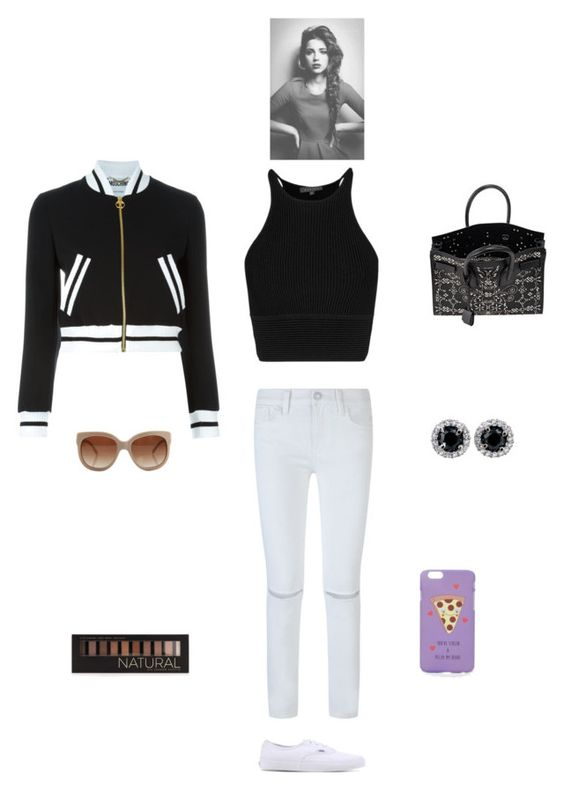 """""""K B M H P"""" by queen-kaitlyn ❤ liked on Polyvore featuring Rebecca Minkoff, Vans, Moschino, STELLA McCARTNEY, Yves Saint Laurent, Forever 21 and ASOS"""