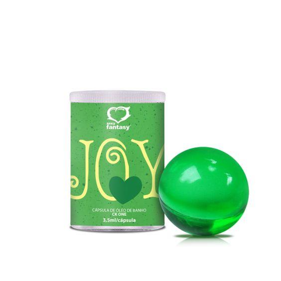 Bolinha Enjoy CK On 1unid - Bolinha Enjoy CK On 1unidAs Bolinhas Aromáticas Enjoy são cápsulas de óleos essenciais com os mais delicados perfumes que excitam e umidificam.
