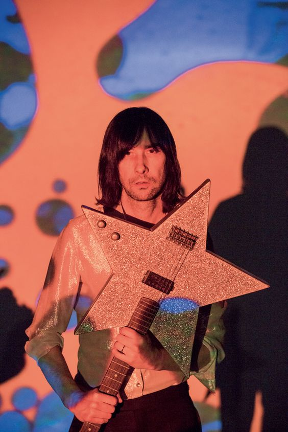 "Bobby Gillespie by Sam Christmas.   Primal Scream release their new album ""Chaosmosis"" and announce the death of rock:"