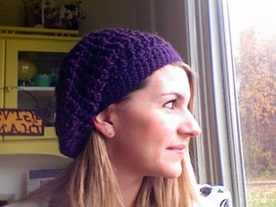 Slouchy hat.  Love but not sure I could wear one and like it on myself.