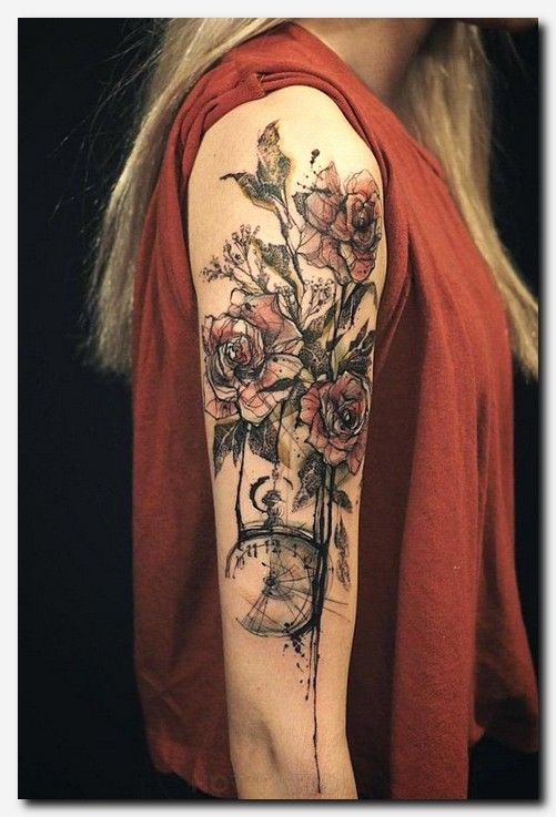 100 Meaningful Rose Tattoo Designs Hot Tattoo Sleeve Tattoos For Women Tattoos For Women Half Sleeve Arm Tattoos For Women