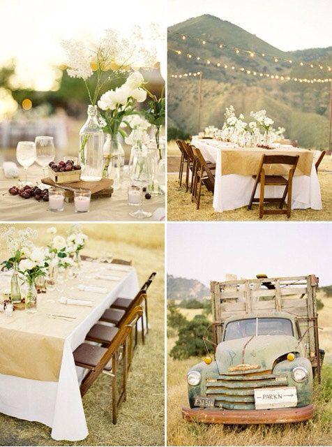 54x54 Burlap Overlays, Burlap Tablecloths or Burlap Squares, Fall Wedding or Thanksgiving sur Etsy, $32.43 CAD