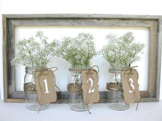Tischnummern für eure Hochzeit - brautherz.de - Hochzeitsblog