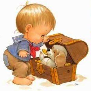 fralda pintada menino com cachorro - Pesquisa Google