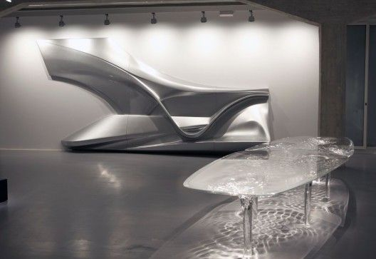 Exposición de pinturas, esculturas y diseños de Zaha Hadid en Madrid | ArchDaily México
