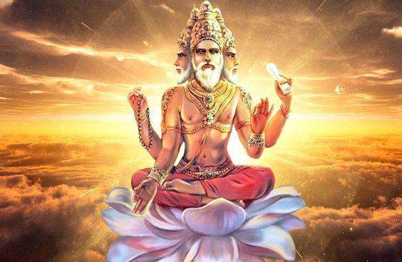 This powerful chant - Guru Brahma Guru Vishnu Devo Maheshwara mantra is a pray to Brahma, a god often identified with Vishnu and Shiva.