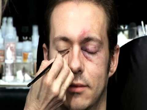 Skin Illustrator Glazing Gels Part 2 Instructional Video. Making a black eye.