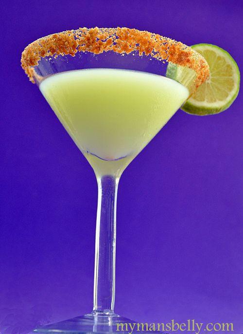 Key Lime Martini LOVE these: Key Lime Martini, Lime Juice, Key Lime Pie Martini, Martini Recipes, Keylime Pie Martini