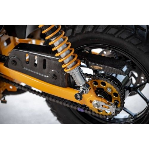 Honda Monkey 125 Motozaaa Chain Guard In 2020 Honda Aftermarket Motorcycle Parts Motorcycle Parts And Accessories