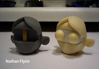 Nathan Flynn: Puppet Head Sculpt - Actress - STEP 03